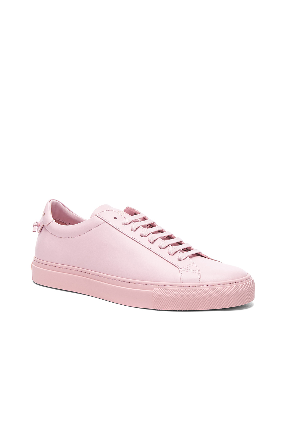 Givenchy Leather Urban Tie Knot Sneakers in Pink