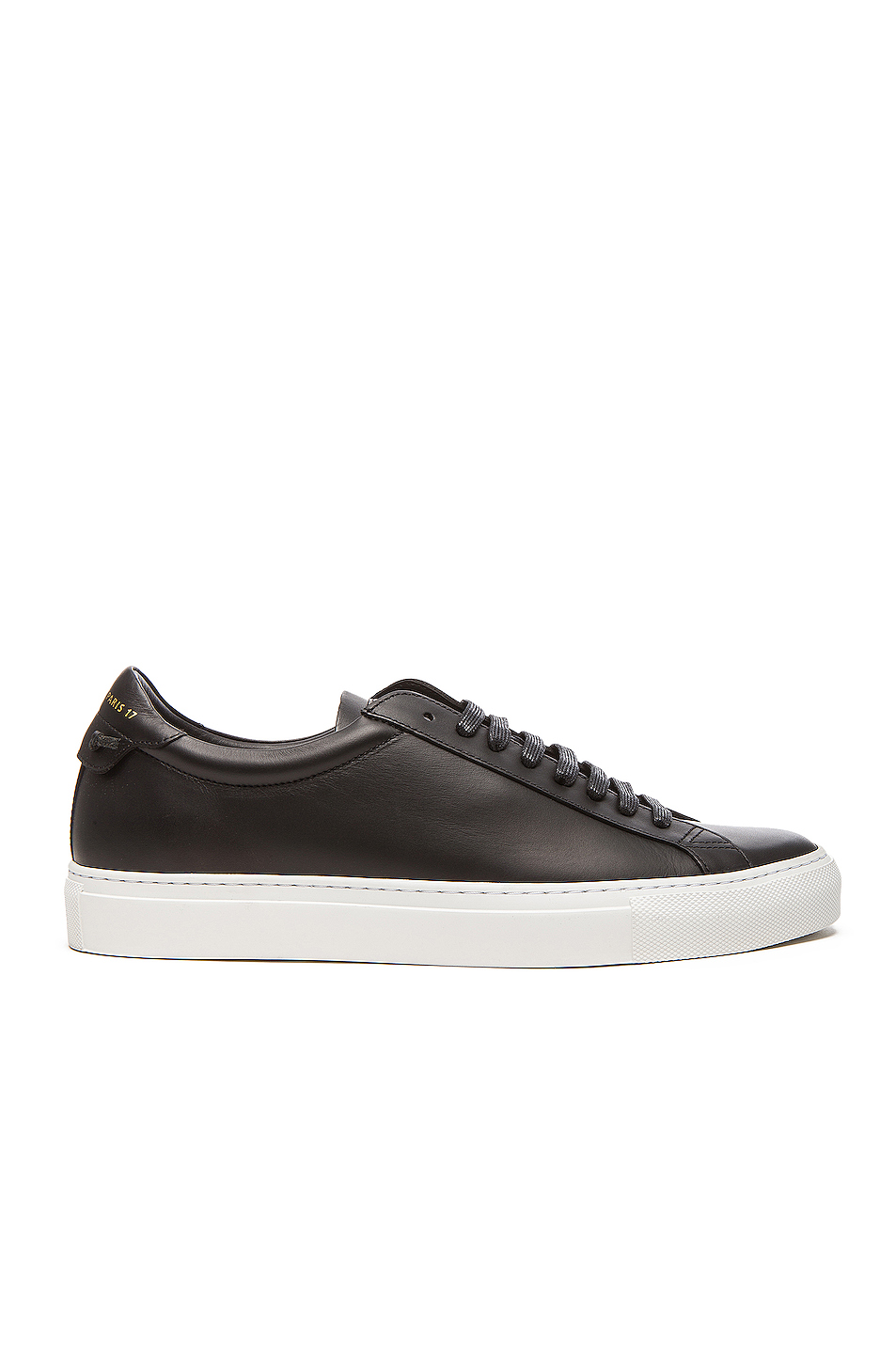 GIVENCHY Knots Low Top Leather Sneakers in Black