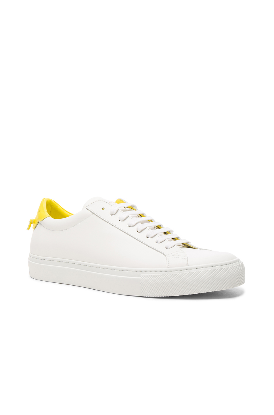 Givenchy Urban Street Low Top Leather Sneakers in White