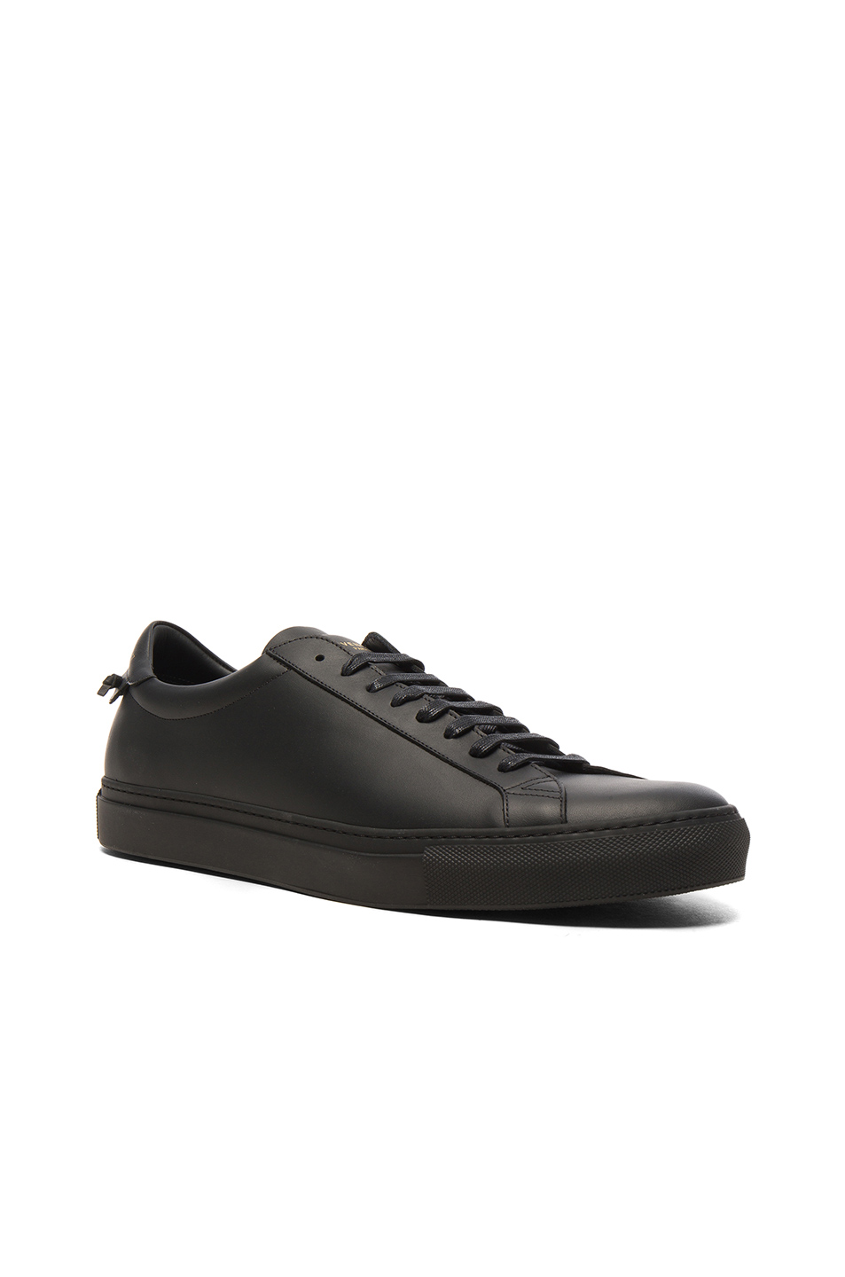 Givenchy Leather Urban Street Low Top Sneakers in Black