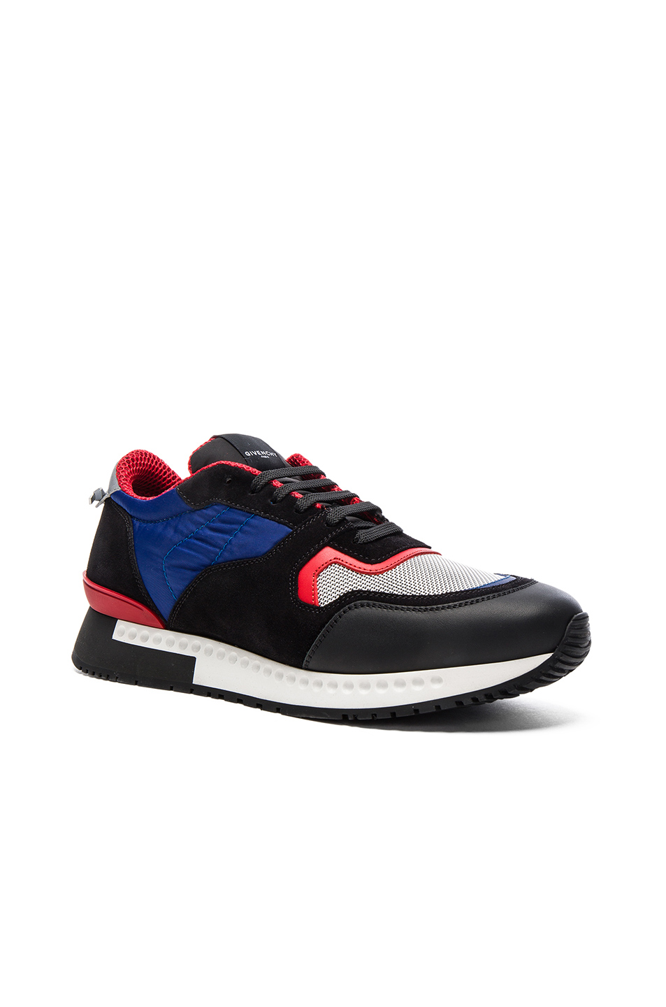 Givenchy Runner Active Sneakers in Black,Blue