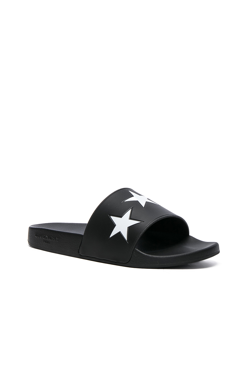 Givenchy Slide Sandals in Black