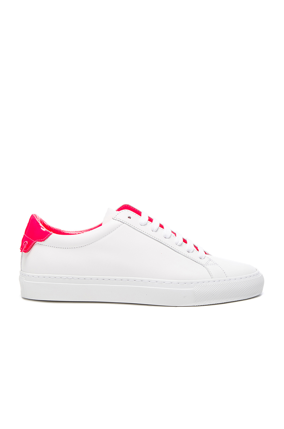 Givenchy Urban Street Low Sneaker in White,Pink,Neon