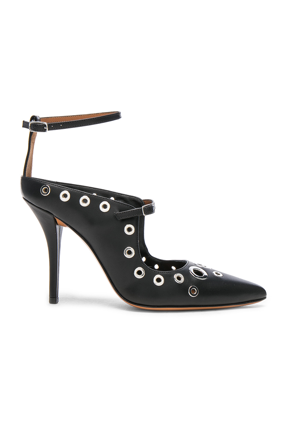 Givenchy Feminine Eyelet Pump in Black