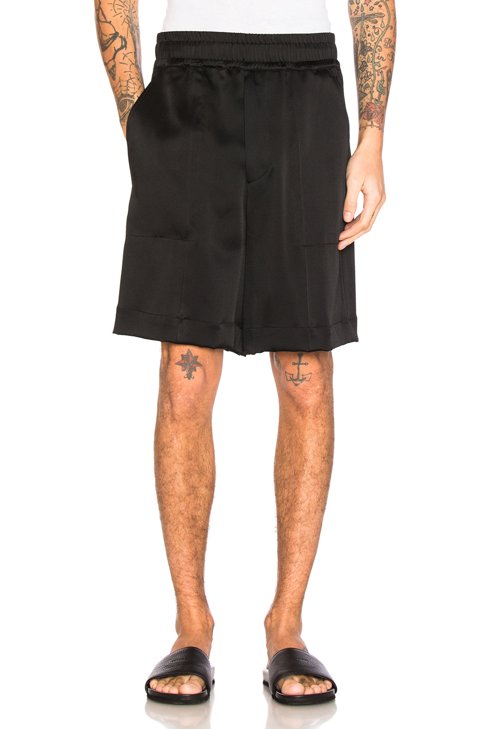 Haider Ackermann Shorts in Black