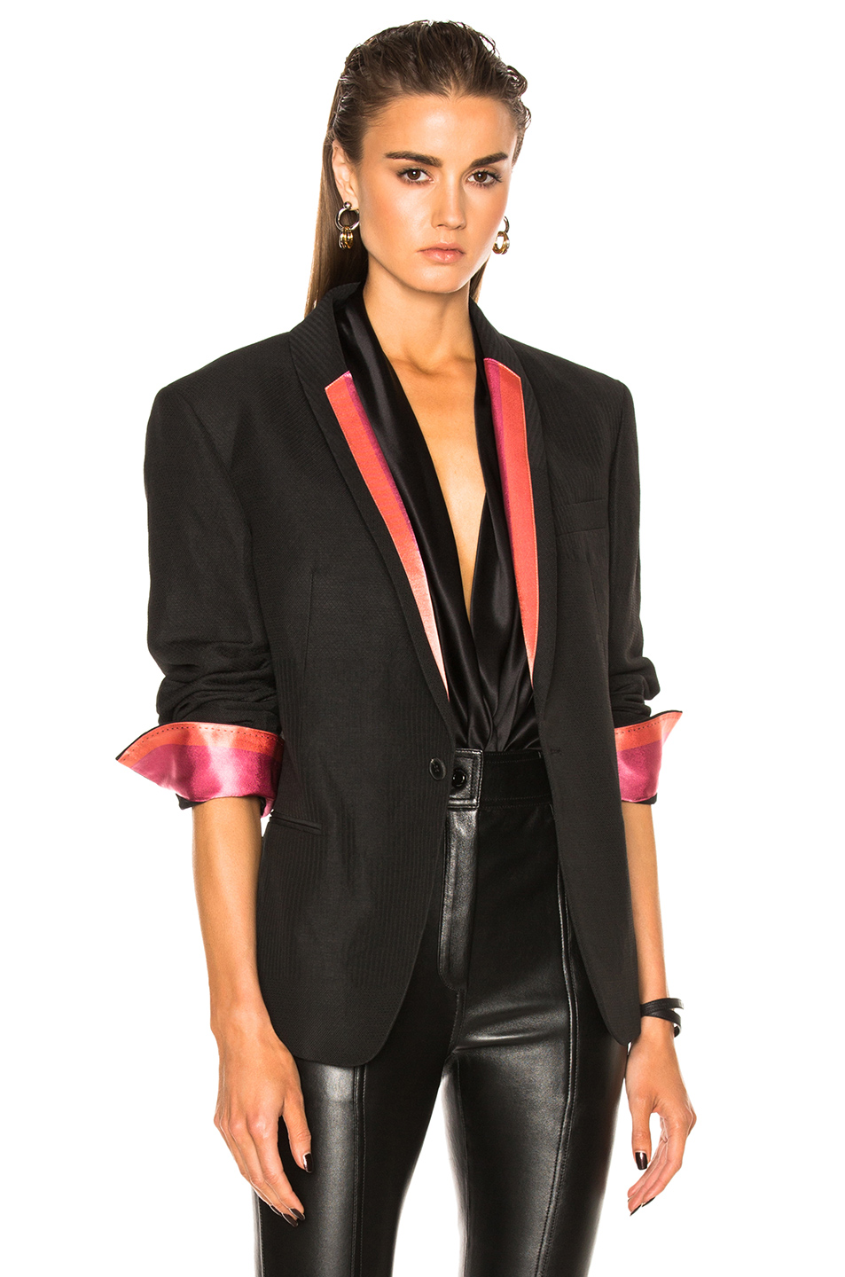 Haider Ackermann Classic Blazer in Black