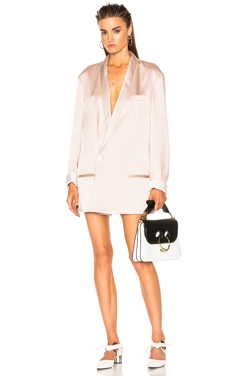 Haider Ackermann Oversized Blazer in Neutrals