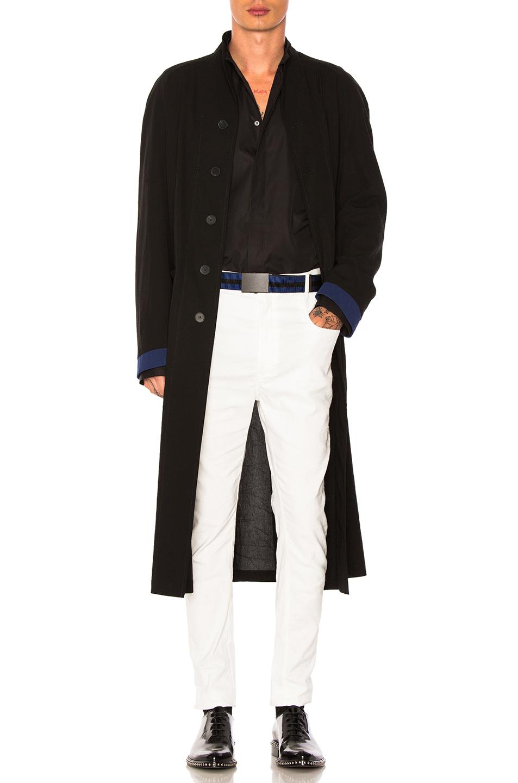 Haider Ackermann Raglan Coat in Black