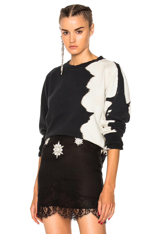 Haider Ackermann Bleach Sweatshirt in Black