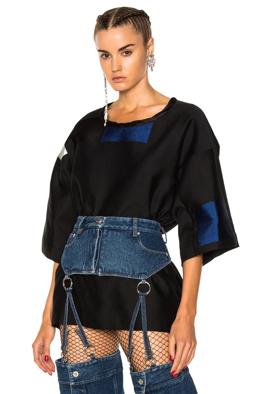 Haider Ackermann Oversized Shirt in Black