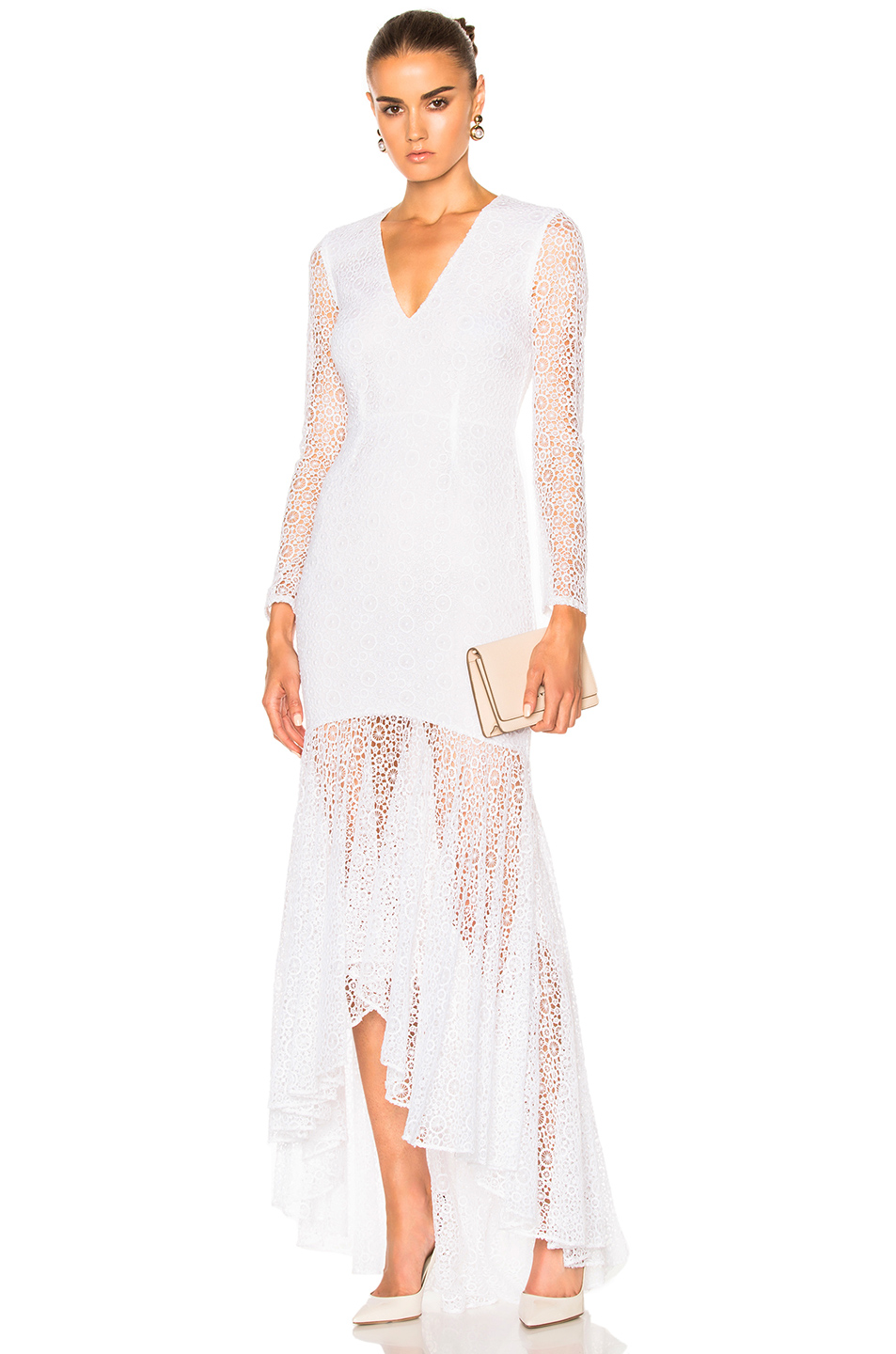 Houghton Dominica Gown in White