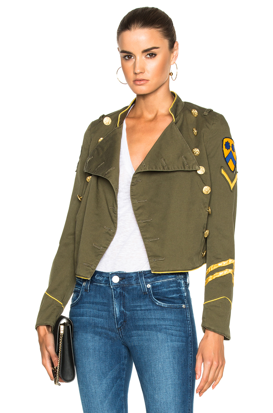 HISTORY REPEATS Giacca Donna History Jacket in Green