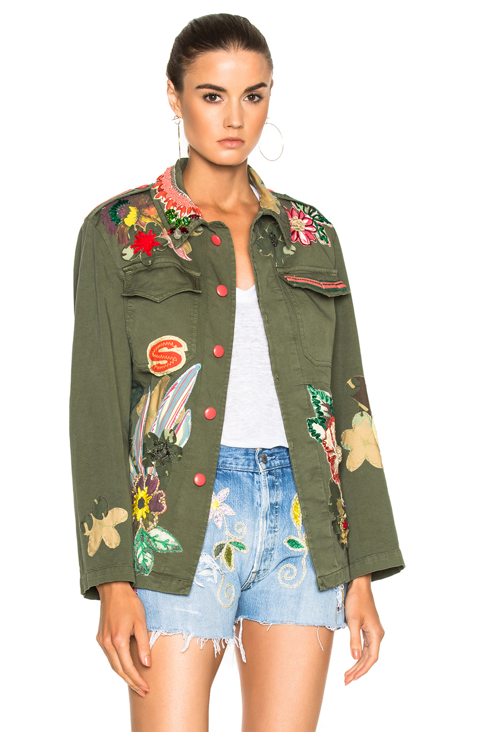 HISTORY REPEATS Giacca History Jacket in Green