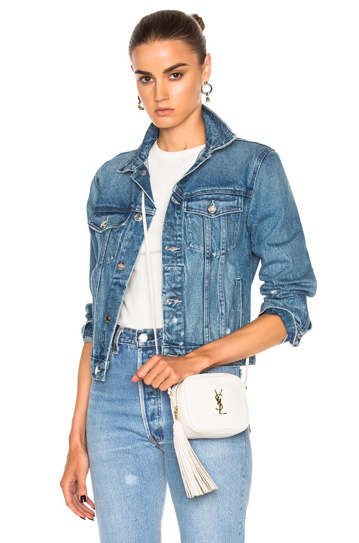 Helmut Lang Shrunken Jacket in Blue