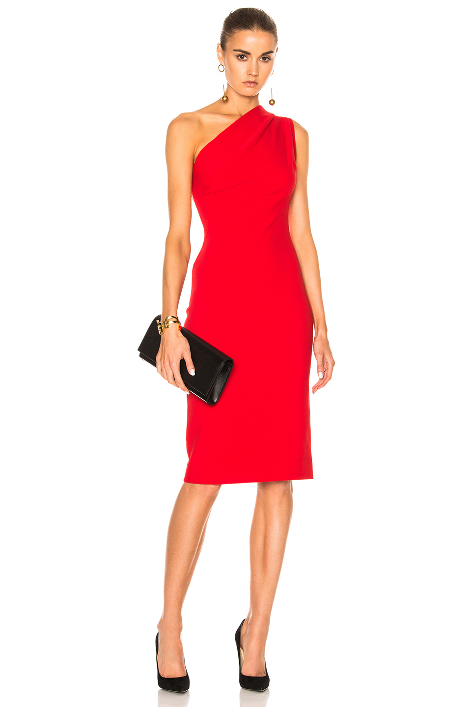 HANEY Mila Dress in Red