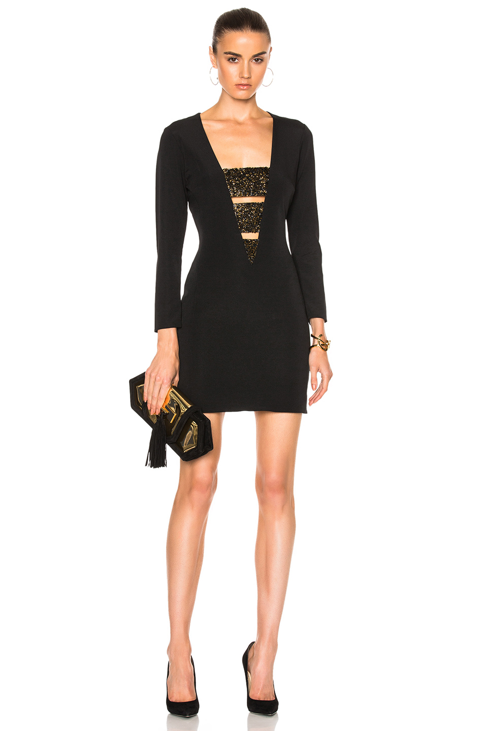HANEY Daphne Dress in Black