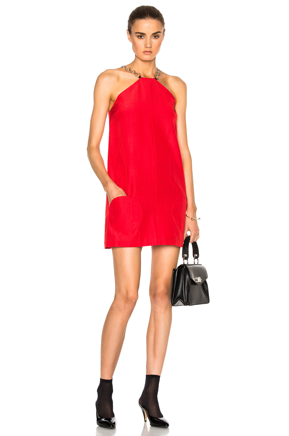 Photo of Isa Arfen Twiggy Mini Dress in Red online sales