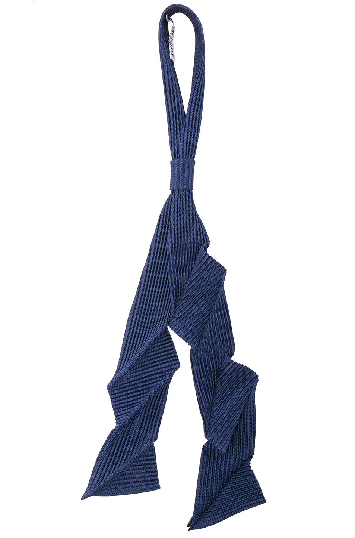Issey Miyake Homme Plisse Pleats Tie in Blue