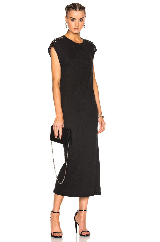 IRO Iboga Dress in Black,Gray
