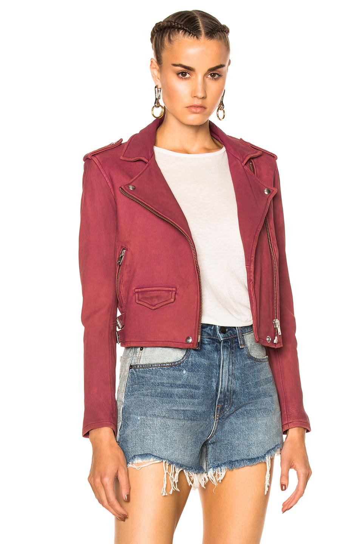 IRO Ashville Jacket in Red