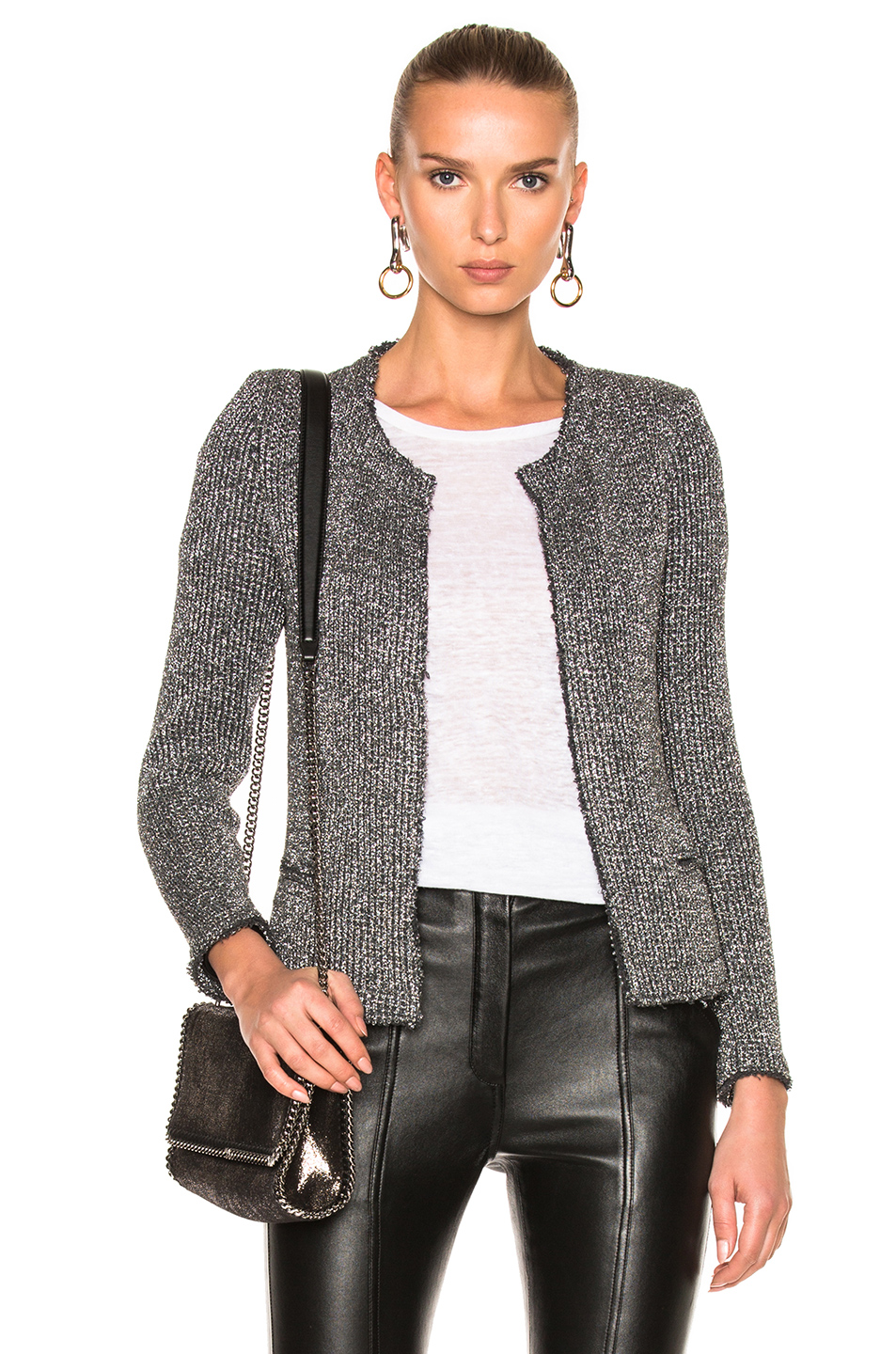 IRO Wallice Jacket in Metallics