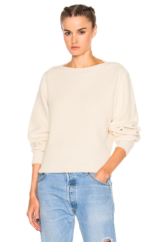 Isabel Marant Fidji Sweater in White