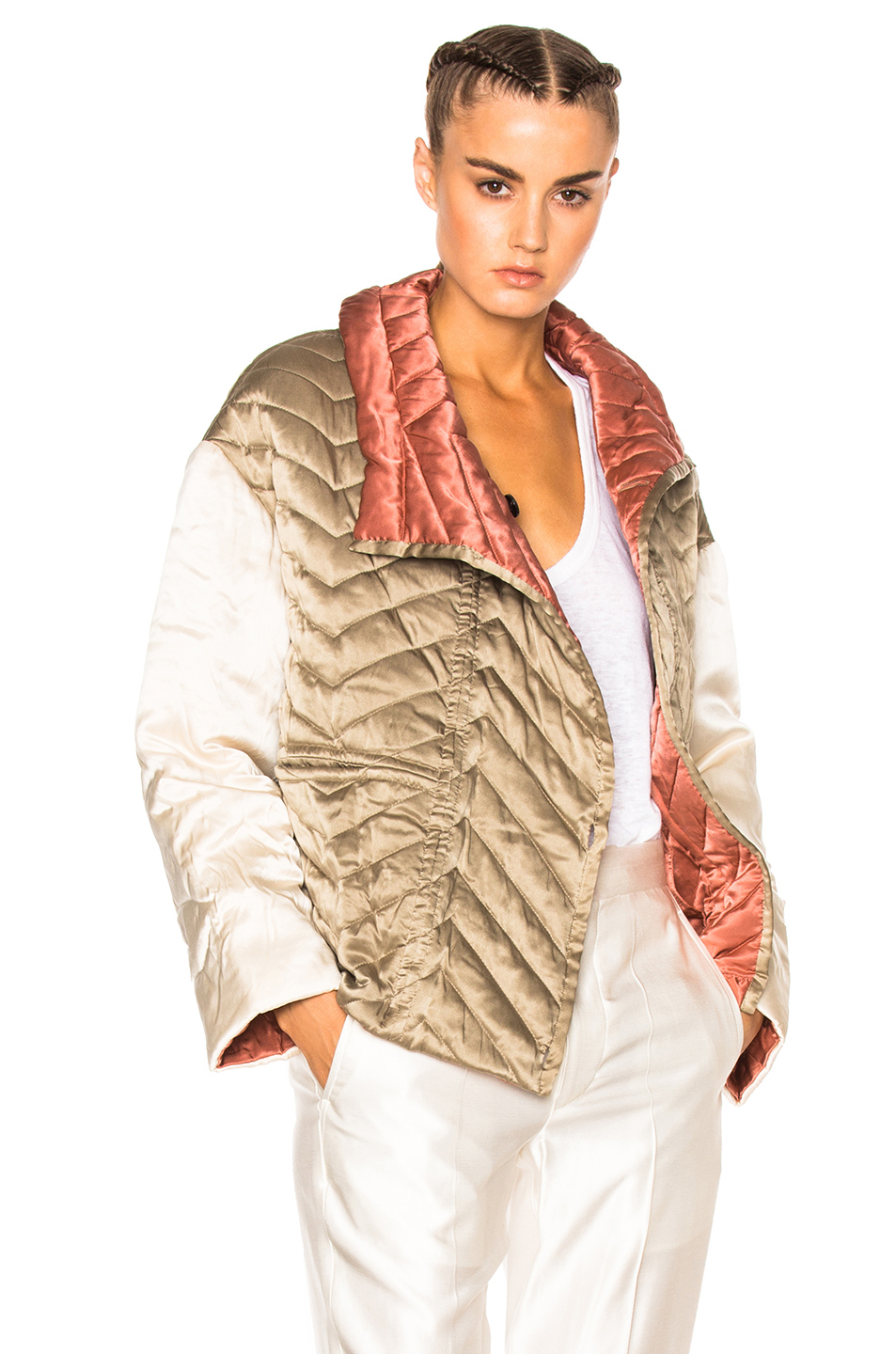 Isabel Marant Hector Bomber in Neutrals