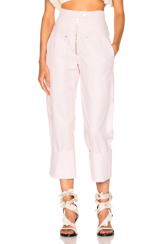 Isabel Marant Duke Pants in Pink