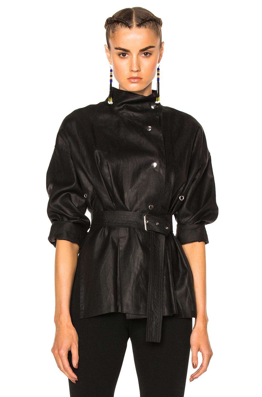 Isabel Marant Iana Top in Black