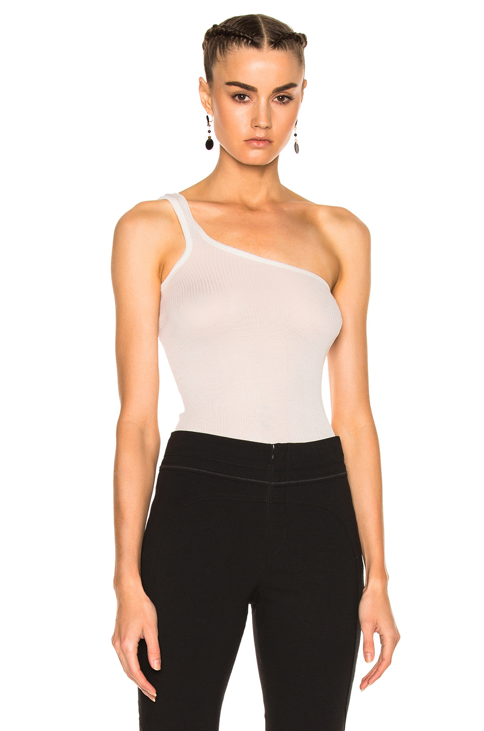 Isabel Marant Mantsy Top in Neutrals,White