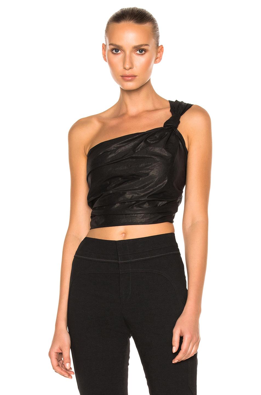 Isabel Marant Lilia Top in Black
