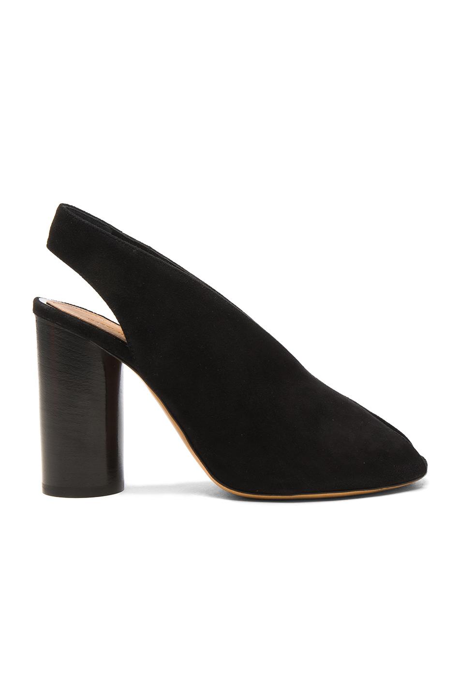 Isabel Marant Suede Meirid Heels in Black