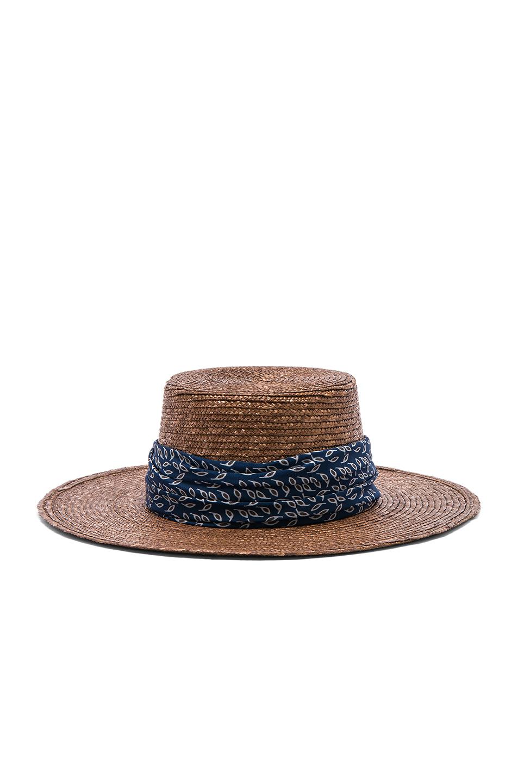 Janessa Leone Louis Bolero Hat in Brown