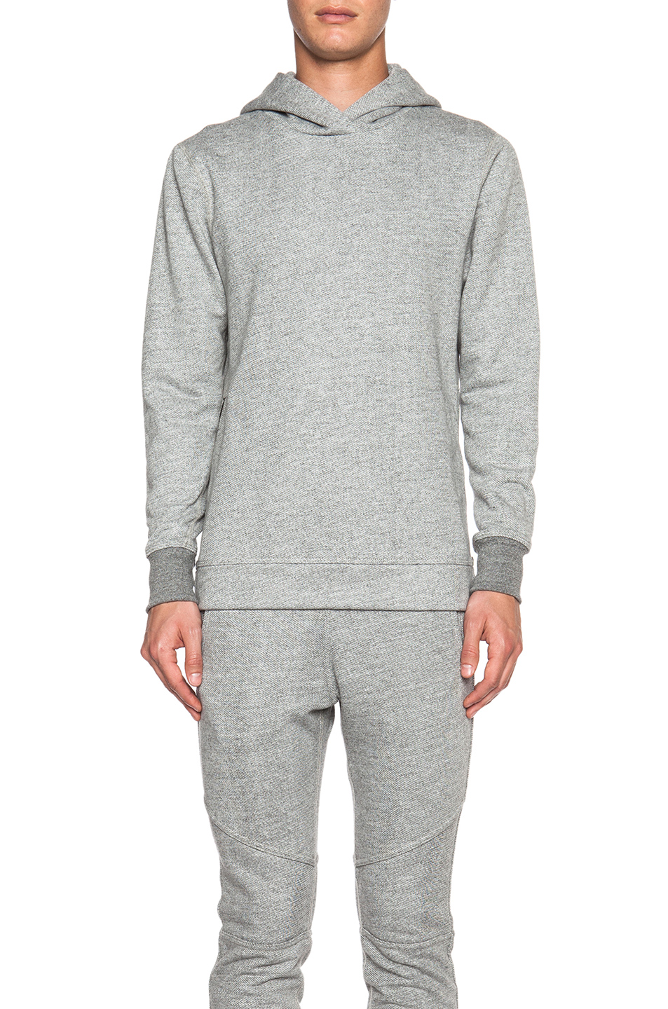 JOHN ELLIOTT Hooded Villain in Gray