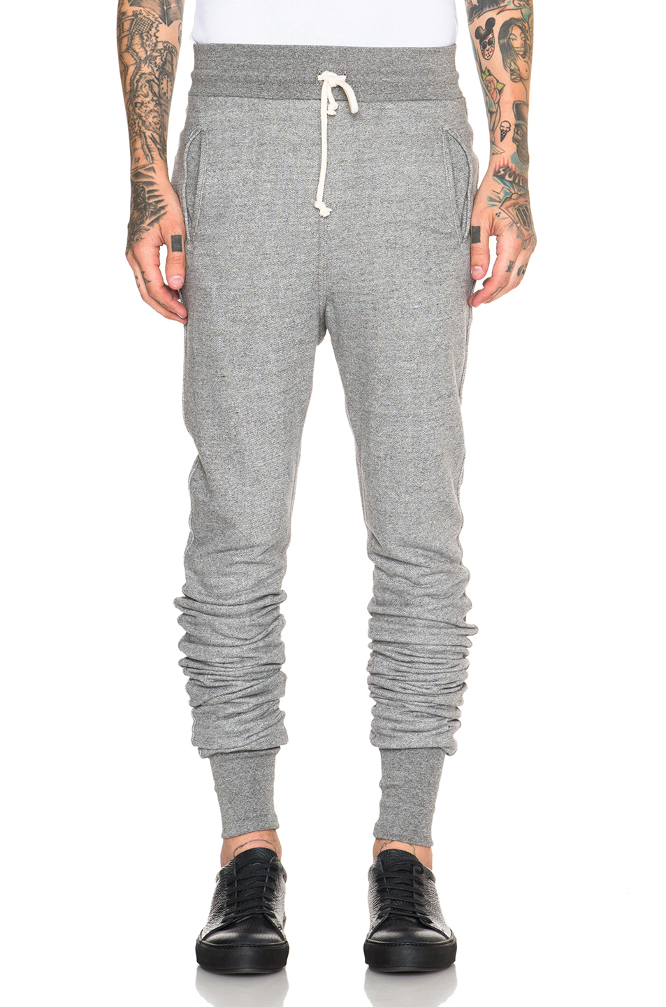 JOHN ELLIOTT Kito Cotton Sweatpants in Gray