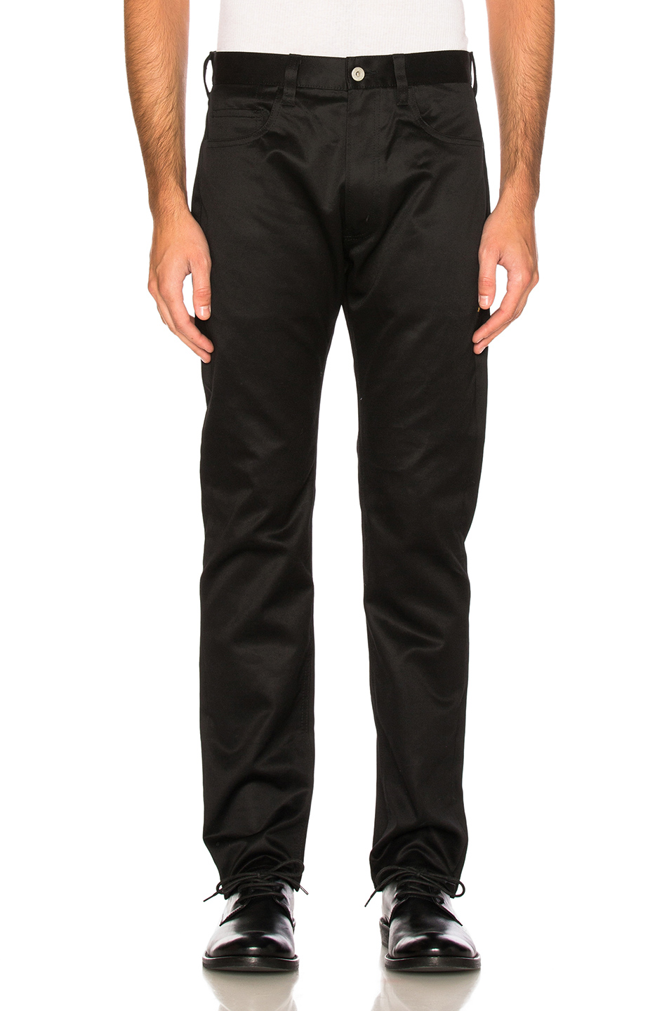 Junya Watanabe Twill Pants in Black