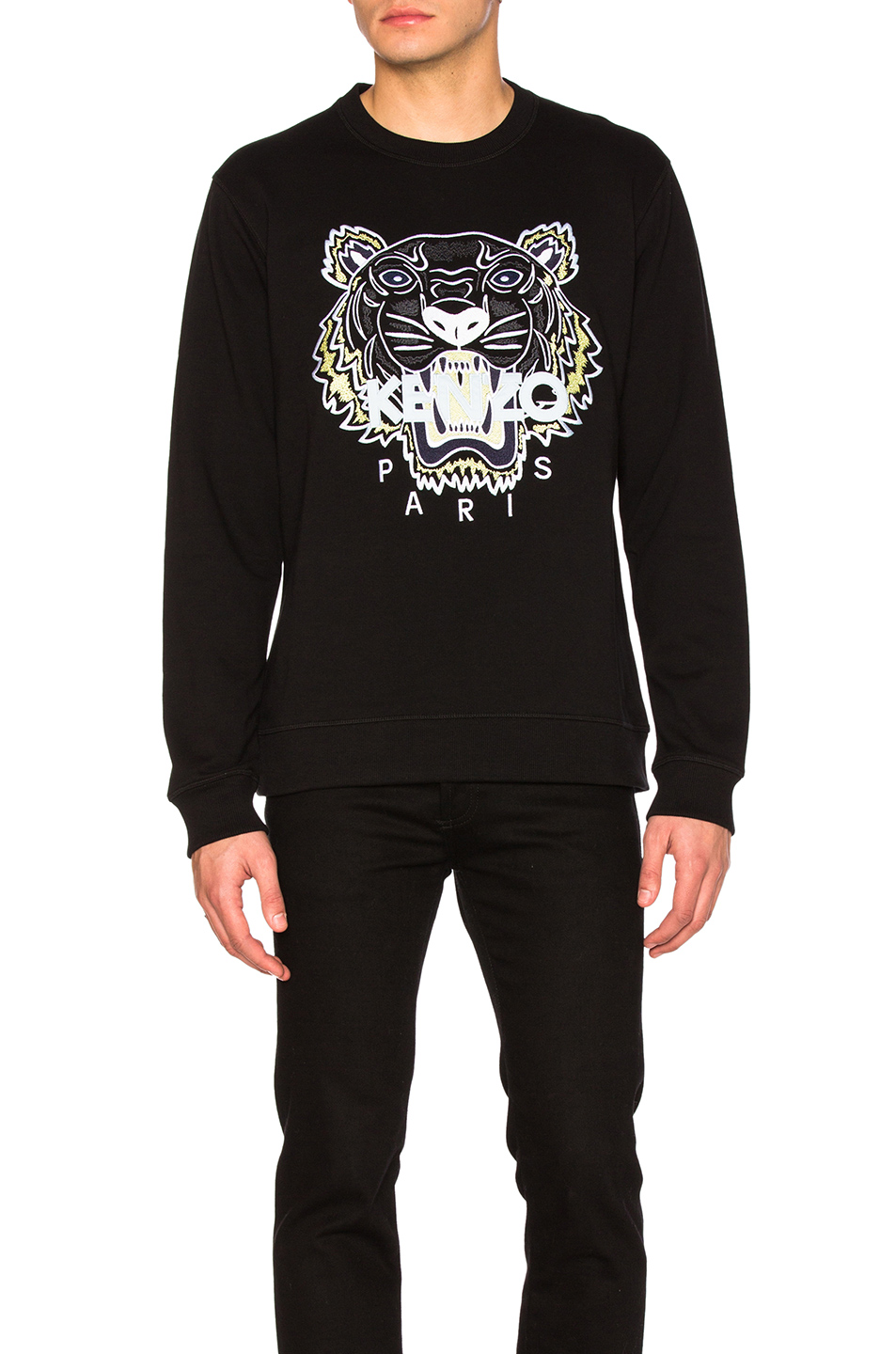 Kenzo Tiger Sweatshirt in Black