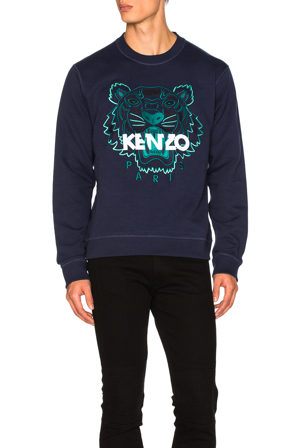 Kenzo Tiger Sweatshirt in Blue