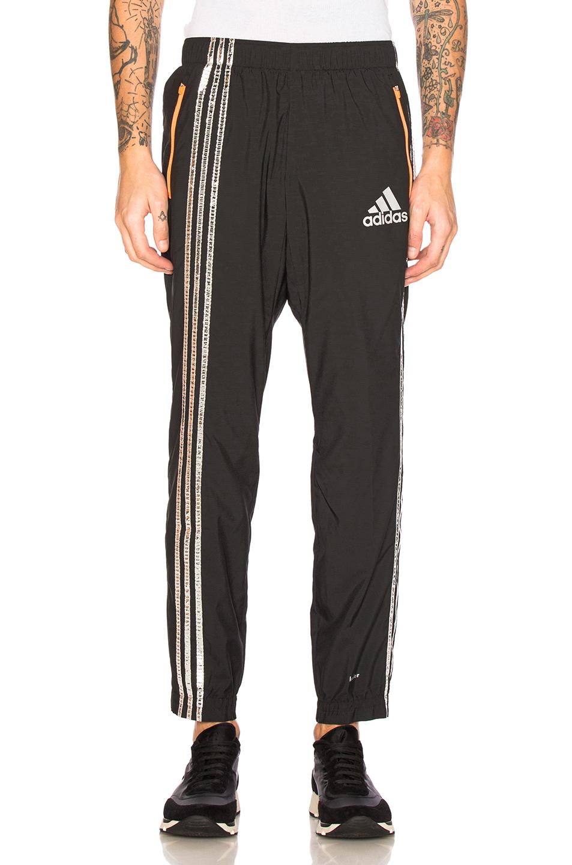 kolor x Adidas Track Pants in Black