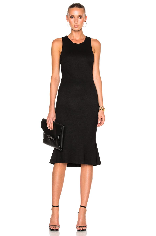L'AGENCE Annalisa Dress in Black