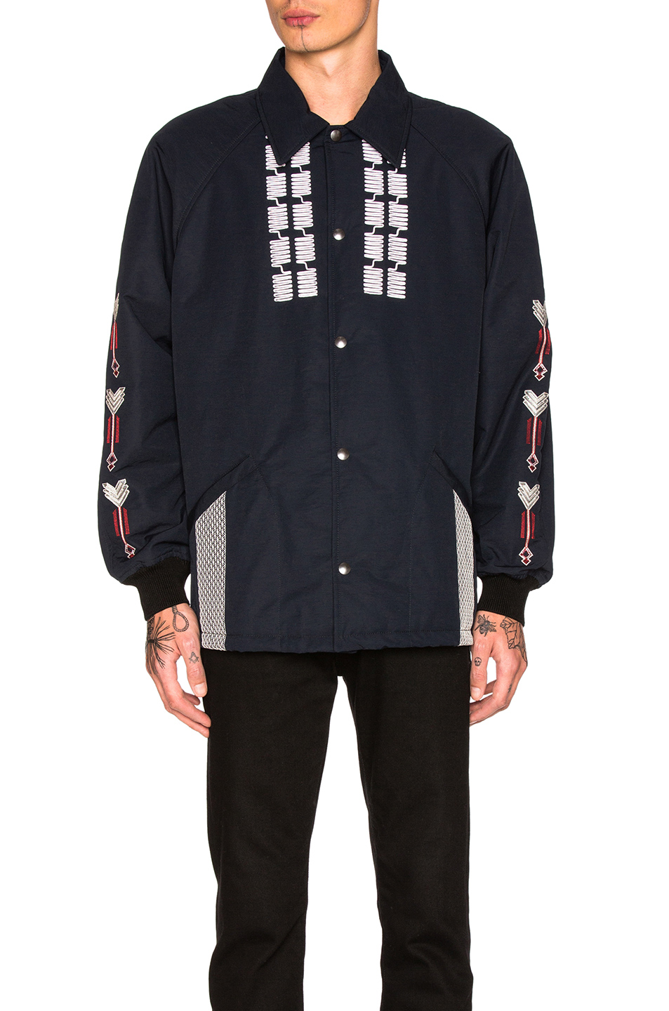 Lanvin Embroidered Jacket in Blue