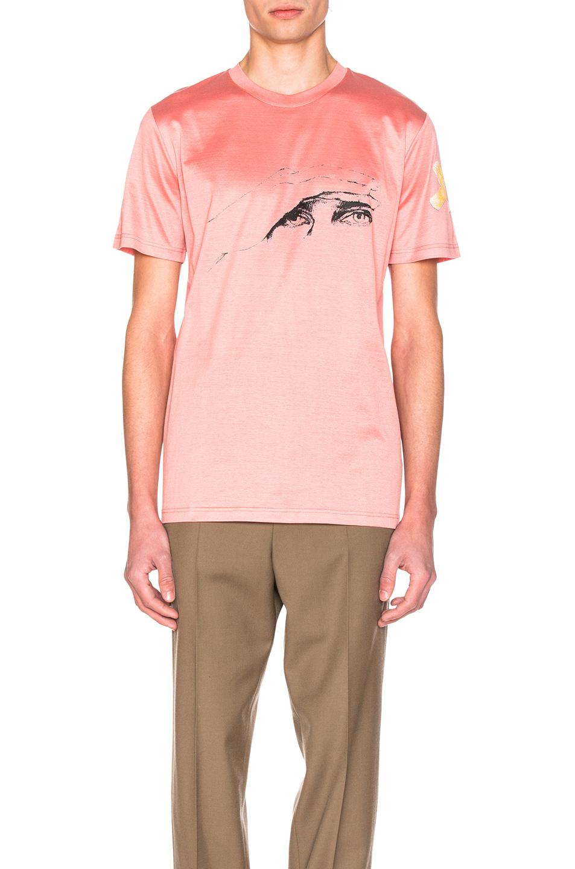 Lanvin Cedric Riverain Gaze Tee in Pink