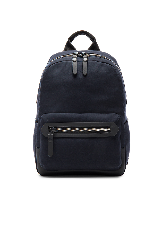 Lanvin Cotton Gabardine Backpack in Blue