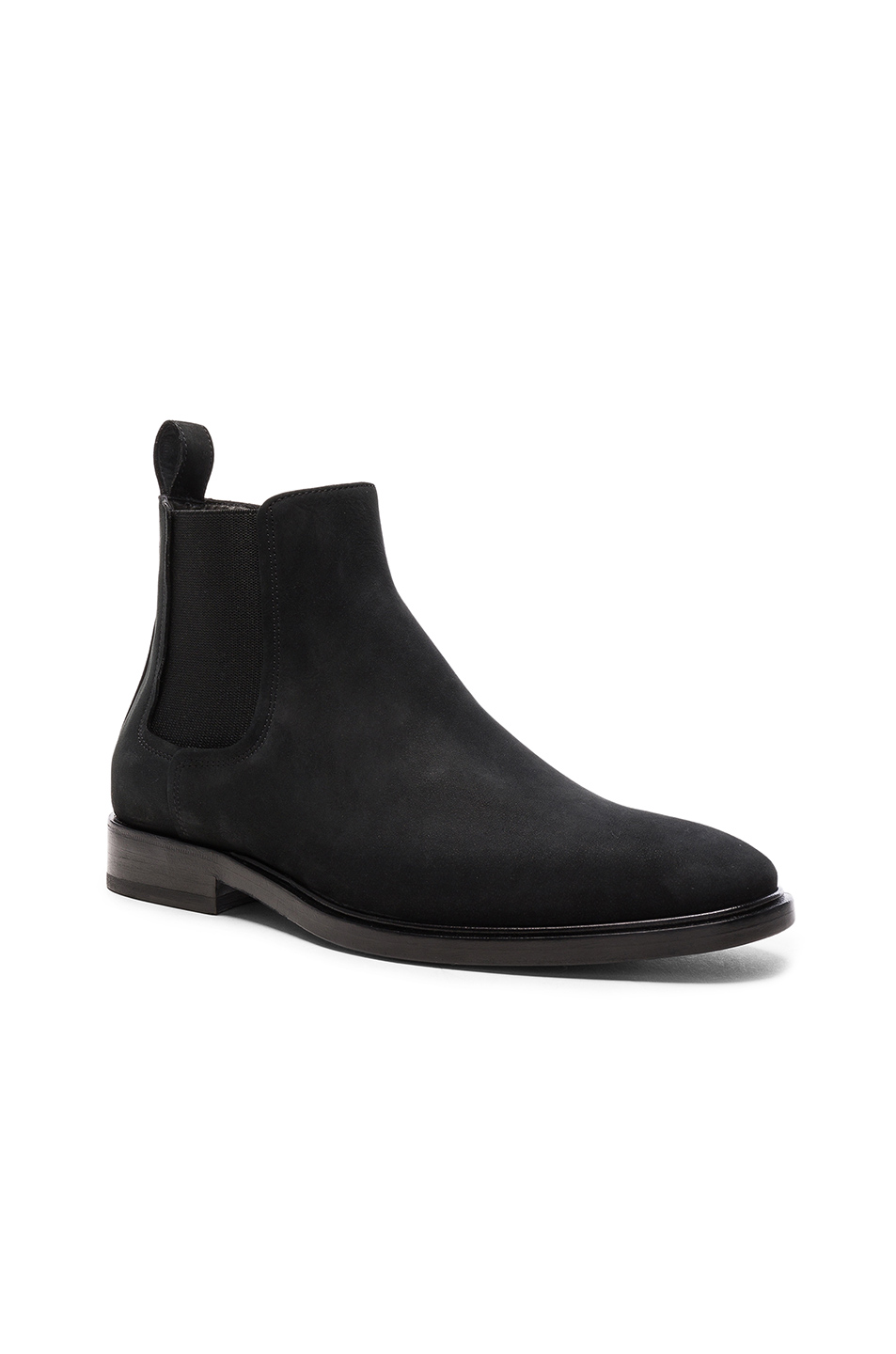 Lanvin Smooth Leather Chelsea Boots in Black