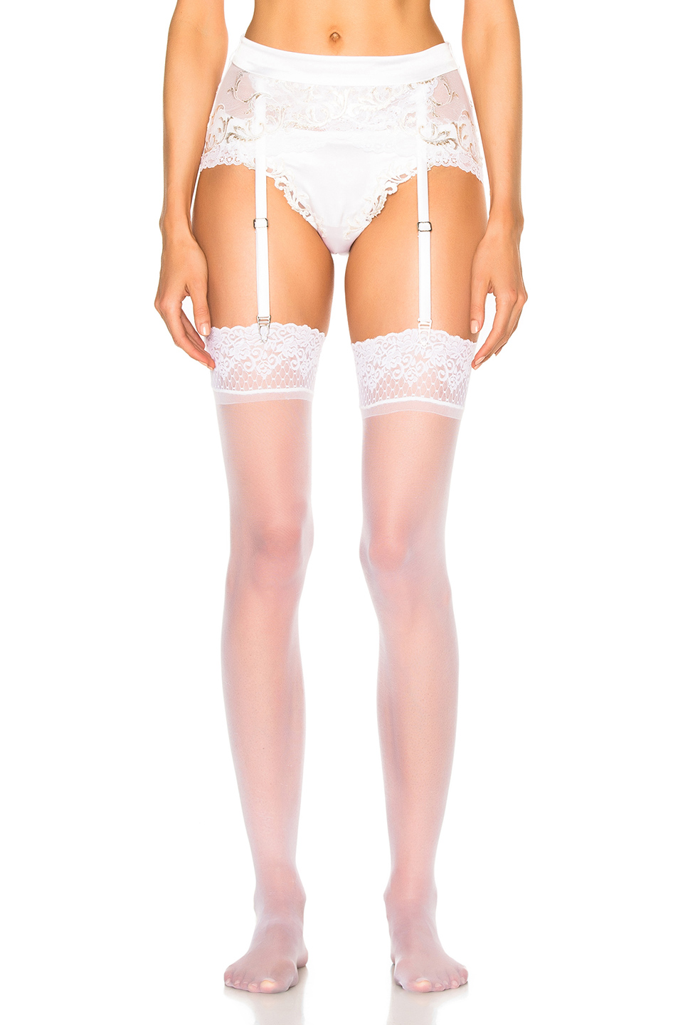Photo of La Perla Secret Story Garter in White online sales
