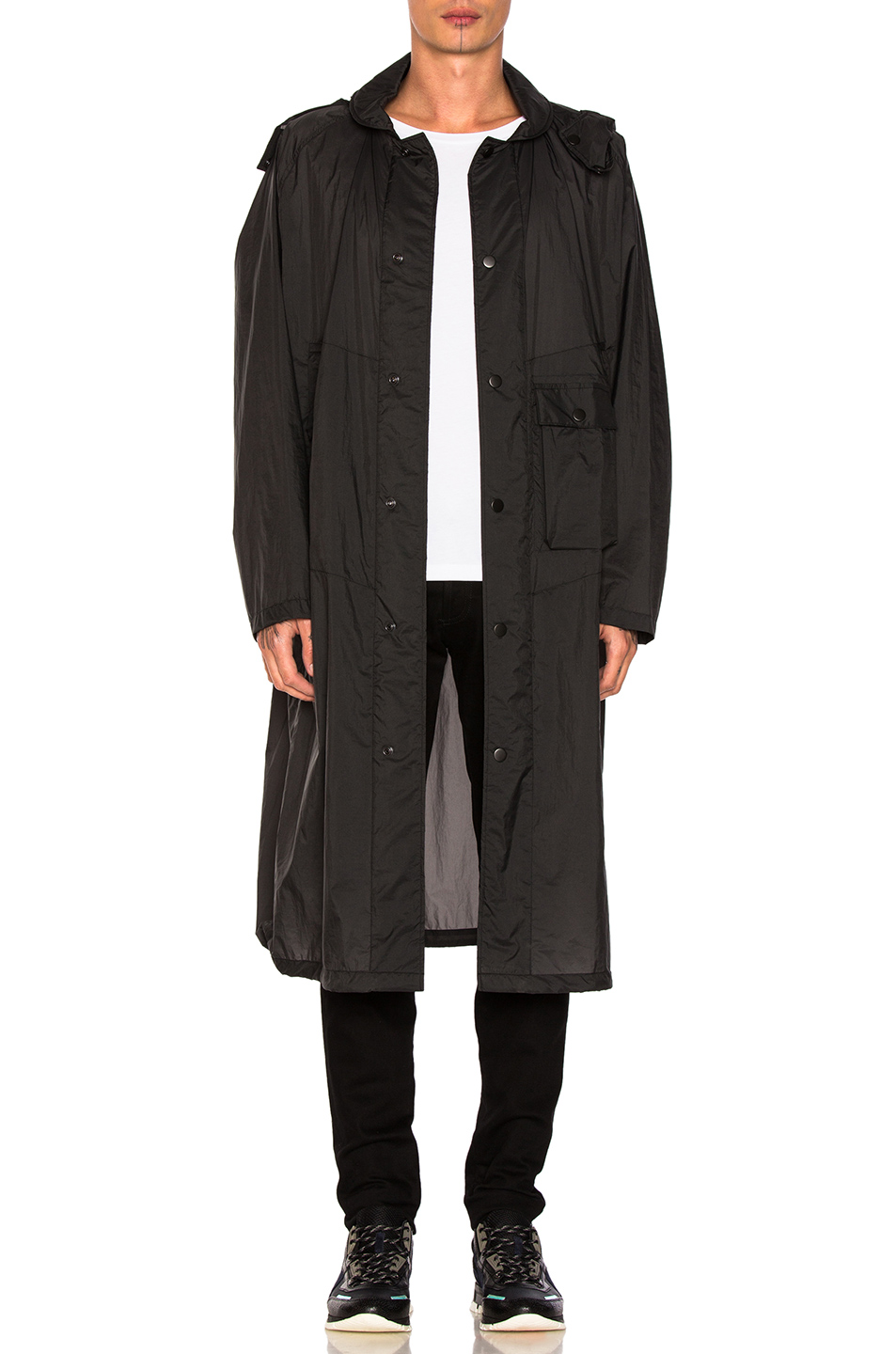 Lemaire Lightweight Parka in Black