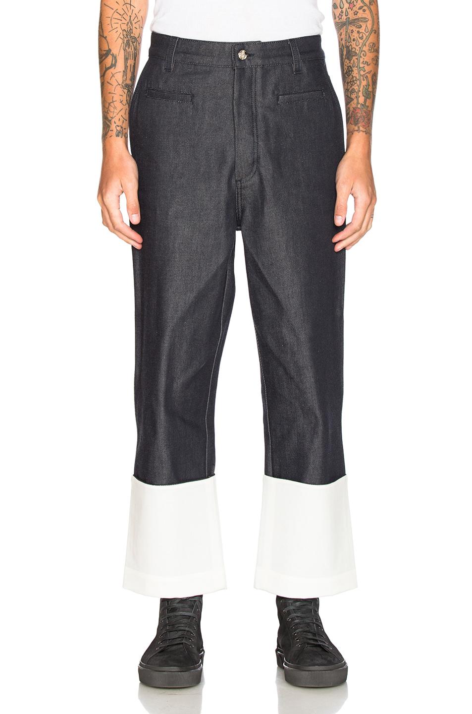 Loewe Fisherman Jeans in Blue