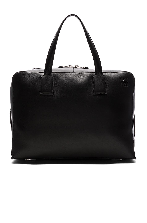 Loewe Goya Weekender Bag in Black