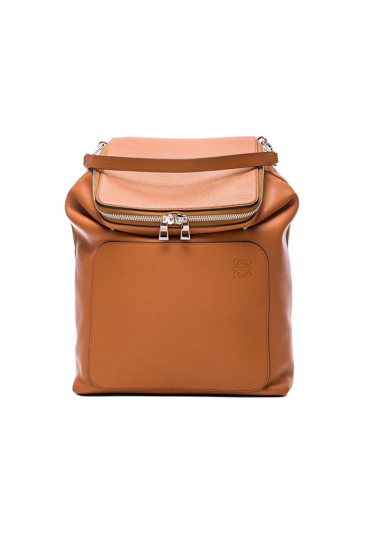 Loewe Goya Backpack in Brown