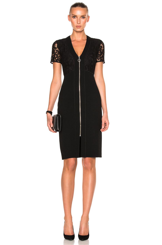 Lover Violet Sheath Dress in Black